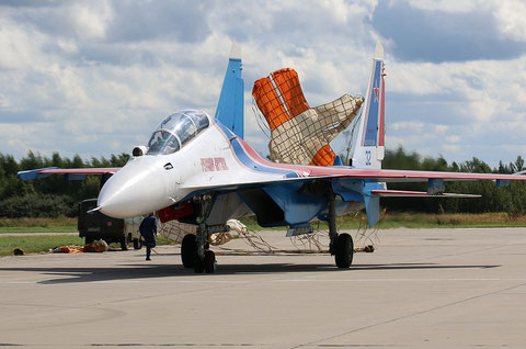 "SU 30SM "" 32 ""  RF-81703 Russian Air Force / Russian Knights -4"