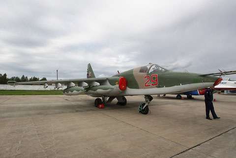 "SU 25K "" 29 ""   RF-95173  Russian Air Force -1"
