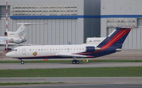 """Jak 42D """" RA-42411 """" RusJet -3"""
