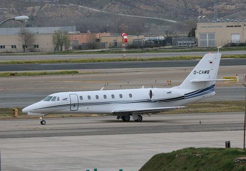 "C 680  Citation Sovereign "" D-CAWB "" Aerowest GmbH -1"