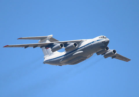"""IL 76MD """" RF-78797 """" Russian Air Force -1"""