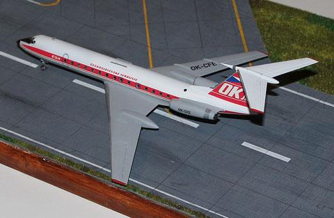 """TU 134A  """" OK-CFE """"    CSA   Zvesda 1/144 -2"""