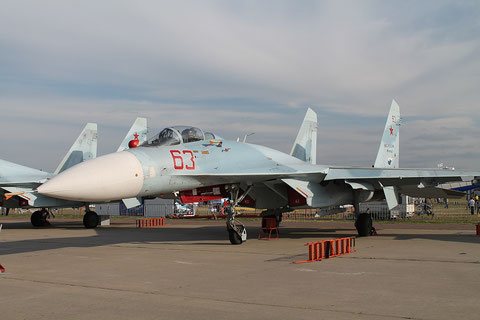 "SU 27SM3 "" 63 ""  RF-90745  Russian Air Force -2"