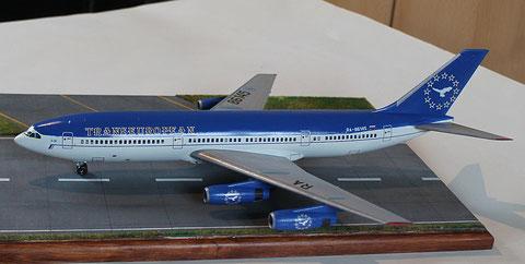 "IL 86 Transeuropean Airlines "" RA-86145 ""  Zvesda 1/144 -4"