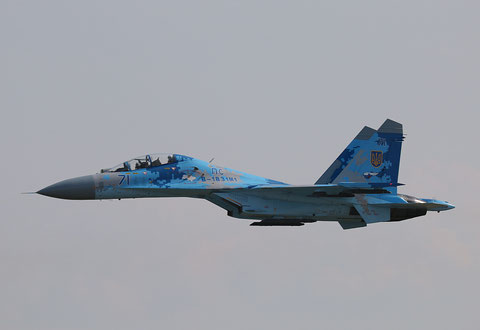 "SU 27UB "" 71 "" Ukrainian Air Force -1"