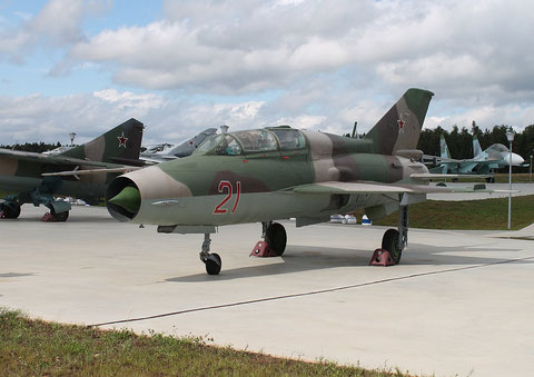 "MiG 21UM  "" 21 ""  Russian Air Force -2"