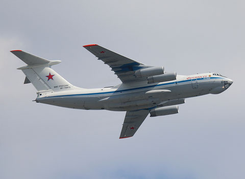 "IL 76MD "" RF-78813 "" Russian Air Force -2"