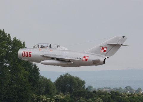 """MiG15 UTI SBLim-2 """" 006 """" ( SP-YNZ) Polish Air Force -3"""