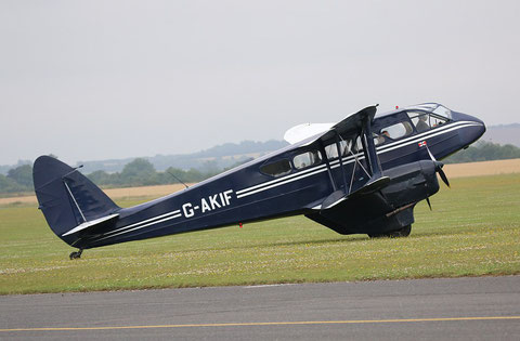 "De Havilland DH-89 Dragon Rapide  "" G-AKIF "" -3"