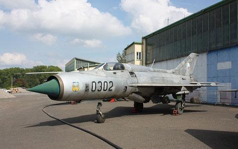 """MiG 21PF """" 0302 """"  Czech Air Force -2"""