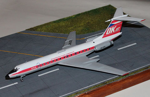 """TU 134A  """" OK-CFE """"    CSA   Zvesda 1/144 -3"""