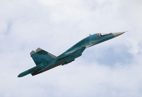 "SU 34 "" 17 ""  RF-95845   Russian Air Force -2"