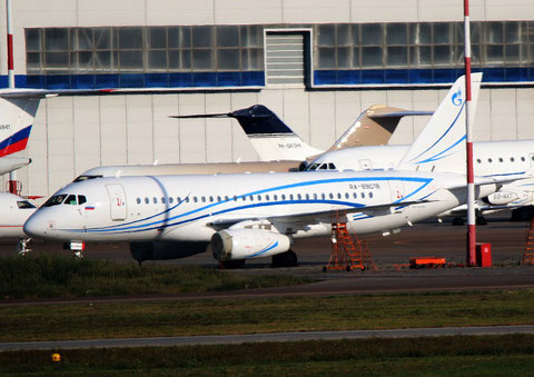 "Superjet 100-95LR "" RA-89018 "" Gazpromavia -1"