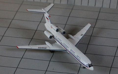 """TU 154M """" RA-85655 """"  ROSKOSMOS   Zvesda 1/144-5"""