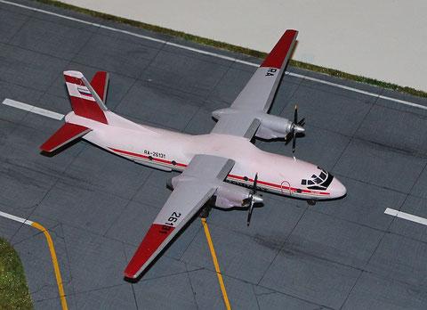 """AN 26B """" RA-26131 """" Aeroflot  Eastern Express  1/144-1"""
