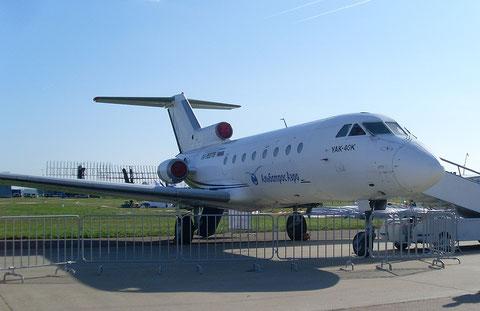 """JAK 40K  """" RA-88278 """"  KNG-Transavia -2"""