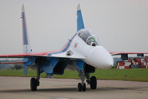 "SU 30SM "" 31 ""  RF-81702 Russian Air Force / Russian Knights -1"