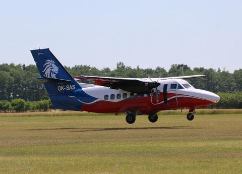 """L 410 OVP  """"  OK-SAS  """"  Aerotaxi SRO -2"""
