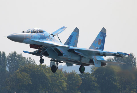 "SU 27UB "" 71 "" Ukrainian Air Force -2"