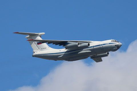 "IL 76MD "" RA-76762 "" Russian Air Force -2"