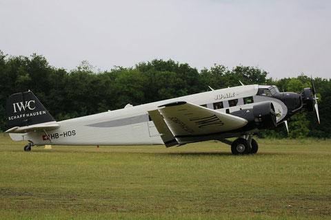 """Ju-52/3m g4e """" HB-HOS """" JU-Air -8"""