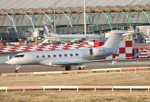 GulfstreamG650 VP-CZA-1