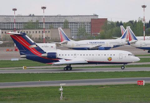 """Jak 42D """" RA-42411 """" RusJet -2"""