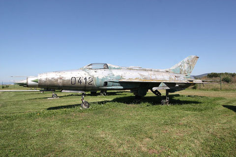 "MiG 21F13 "" 0412 "" Czech Air Force -1"