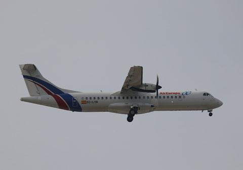 """ATR 72-212A """" EC-LYB """"  Air Europa -3"""