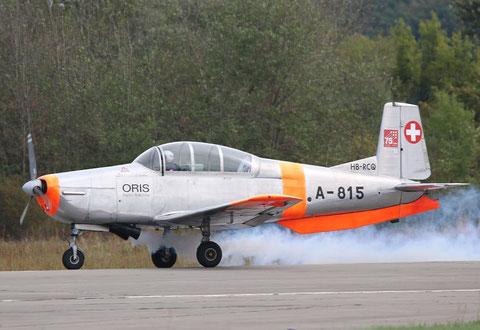 PilatusP3 HB-RCQ-2