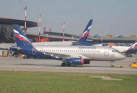 """Superjet 100-95 """" RA-89042 """" Aeroflot -1"""