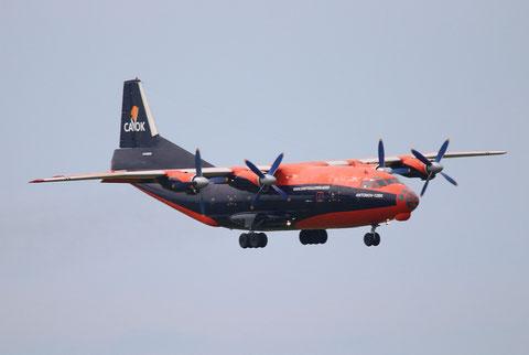 """AN 12BK  """" UR-CKL """" Cavok Air -1"""