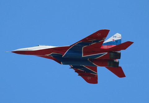"""MiG 29C  """" 34 """"  RF-92134 Воздушно-космические силы   ( ВКС ) Россия -2"""