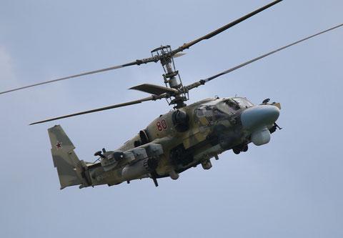 "Ka 52 "" 80 ""  RF-90392  Russian Air Force -3"