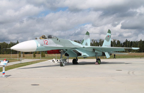 "SU 27  "" 12 ""   Russian Air Force -1"