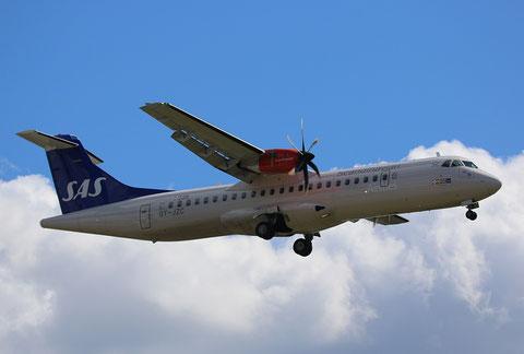 "ATR 72-212A(600) "" OY-JZC ""  SAS Scandinavian Airlines -2"