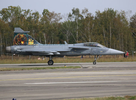 """Jas 39C """" 9236 """" Czech Air Force -5"""