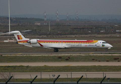 """CRJ-900 """" EC-JYV """"  Air Nostrum -1"""