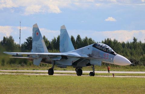 """SU 30SM """" 53 """"  RF-81872  Воздушно-космические силы  ( ВКС ) Россия -8"""