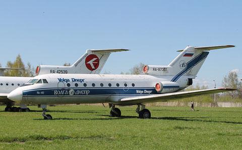 "JAK 40  "" RA-87357 "" Volga Dnepr Airlines -5"