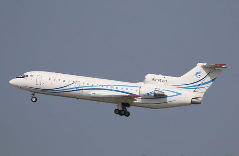 "Jak 42D "" RA-42437 "" Gazpromavia -1"