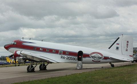 "DC 3 "" RA-2059G ""   Barsov Aviation Museum -2"