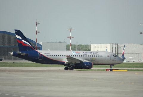 """Superjet 100-95 """" RA-89043 """" Aeroflot -1"""