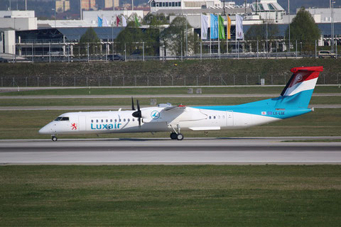 """Dash 8-402Q  """" LX-LGE """"  Luxair -1"""