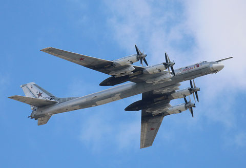 "TU 95MS "" RF-94126 "" Moskva  Russian Air Force -1"