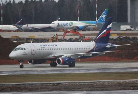 """Superjet 100-95B """" RA-89106 """" Aeroflot -1"""