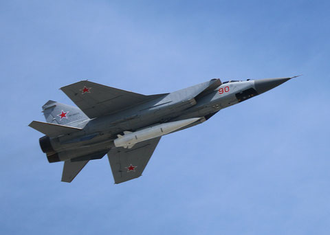 "MiG 31K "" 90 ""  RF-95215 Russian Air Force -1"