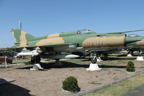 "MiG 21MF "" 8202 ""  Hungarian Air Force -1"
