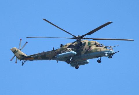 """MI 35 """" 52 """"   RF-13028  Russian Air Force -1"""