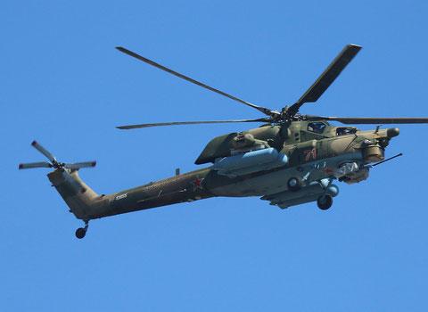 """Mi 28H """" 71 """" RF-13655 Russian Air Force -2"""